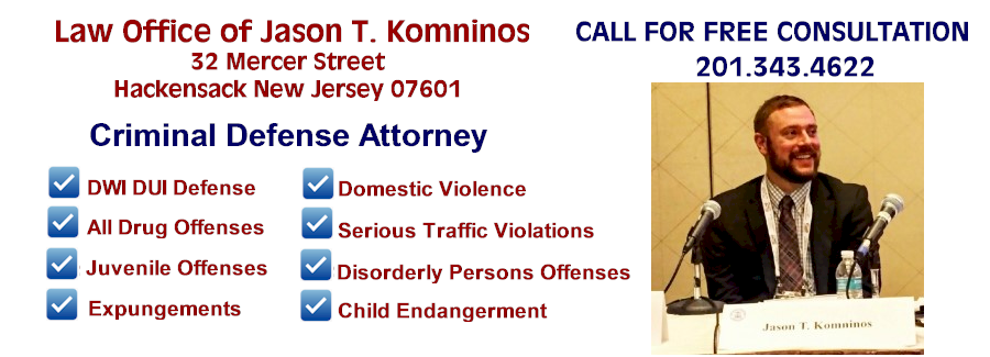Jason T. Komninos Esq. Criminal Defense Attorney DWI DUI Expungements